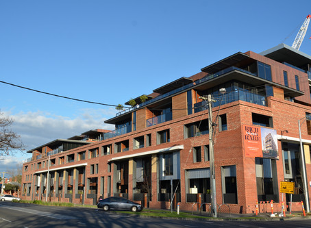 Brick Inlay System is the perfect solution for the contemporary Jacques Apartments in Richmond