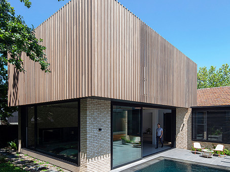 Handcrafted Petersen D71 bricks and timber deliver an oasis of calm at Lyall House