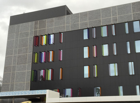 Blacktown Mount Druitt Hospital's Clinical Services Building makes its mark with a brilliant design