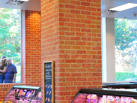 New Woolworths Sydney stores feature Robertson's Building Products' thin brick facing tiles