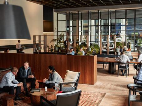Custom made bricks transform 2 Southbank lobby into a place of the future