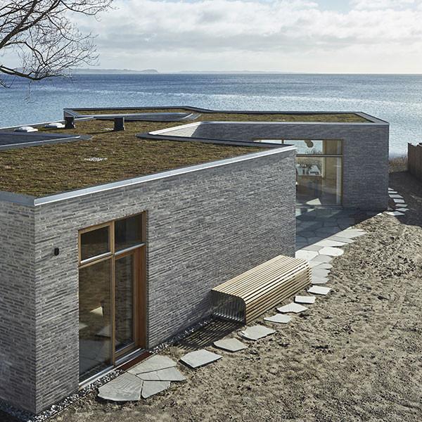 Villa Platan in Aarhus, using Petersen K91 bricks