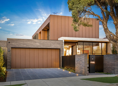 Petersen bricks, concrete and aluminium create a stunning forever home in Caulfield