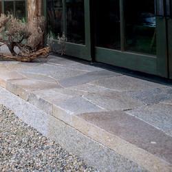 Antique Pewter Granite paving