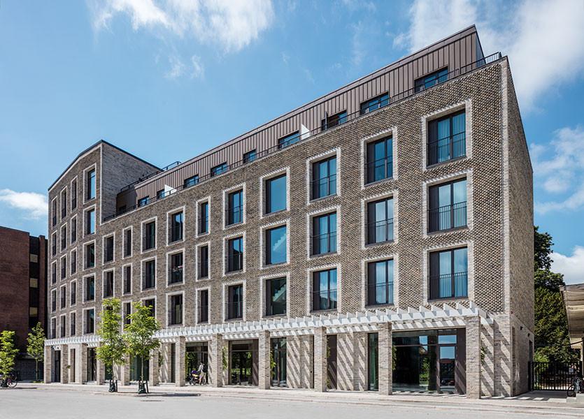 Carlsberg Foundation Researcher Apartments, Petersen D190 bricks