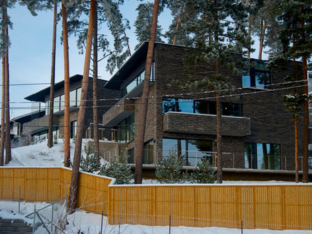 Award-winning Petersen bricks turn heads in Norway