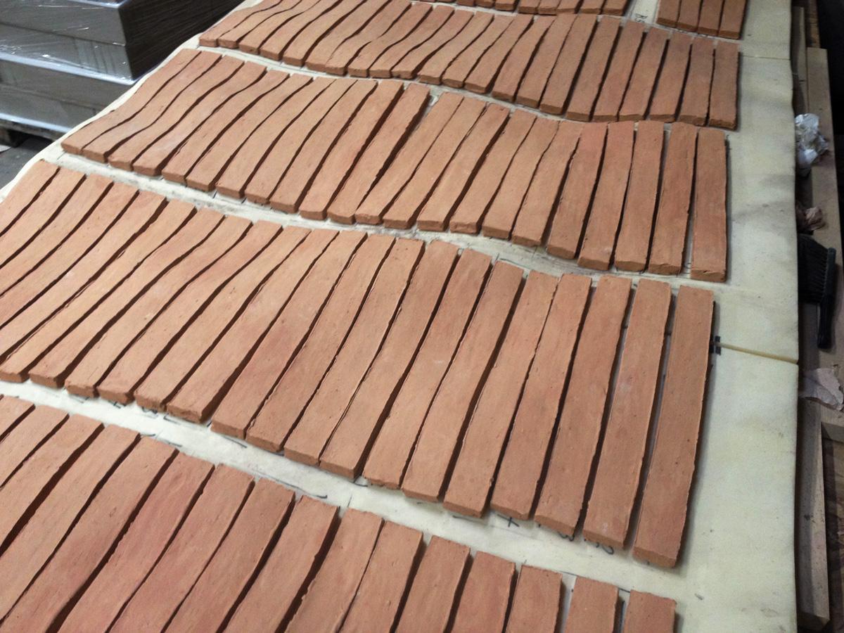 Custom made K21 bricks