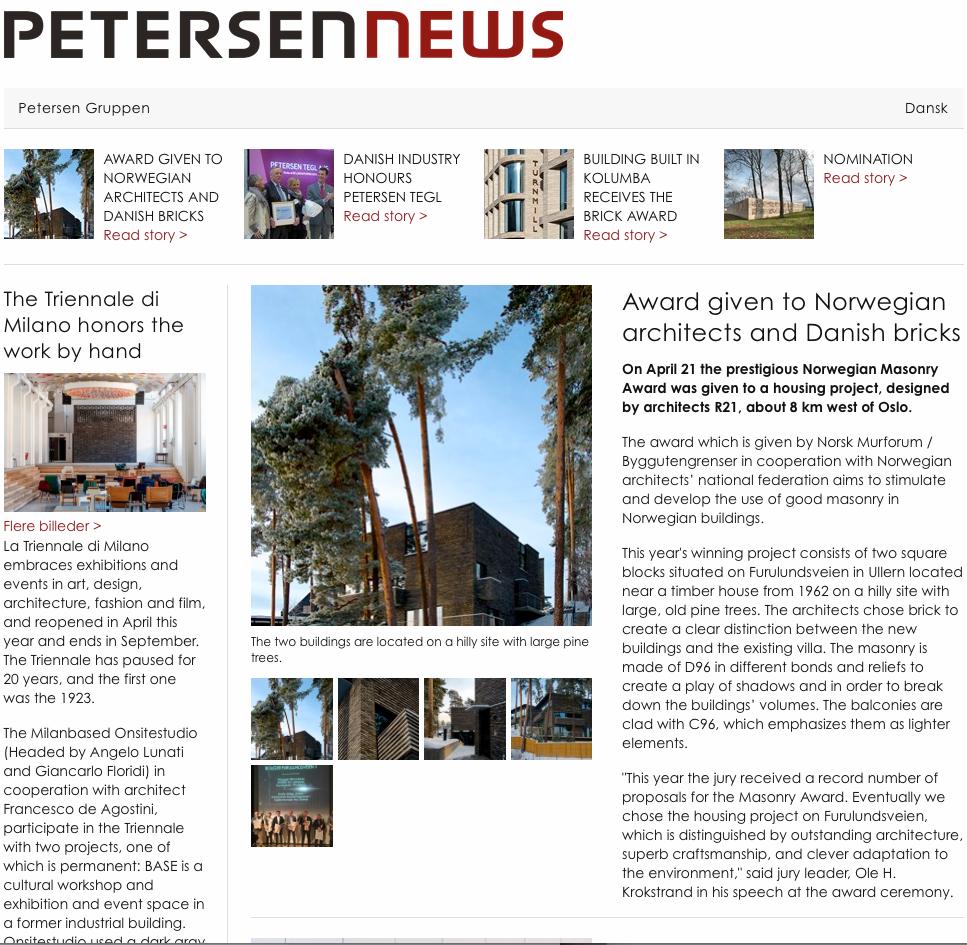 Petersen news