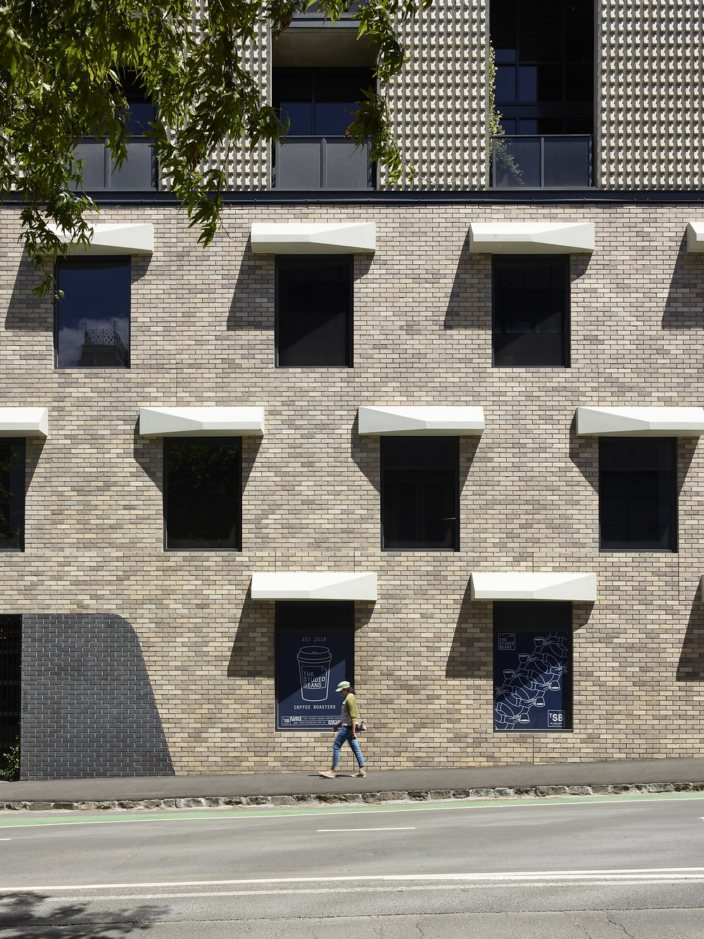 Brick Inlay with Krause Rustic Grey brick tiles