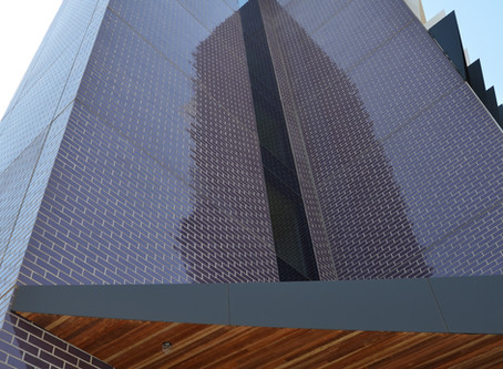 Brick Inlay System Reaps Rewards For Monash Uni's Logan Hall