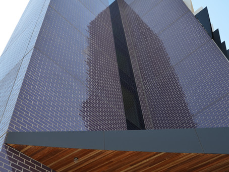 Brick Inlay System Reaps Rewards For Monash Uni's Logan Hall