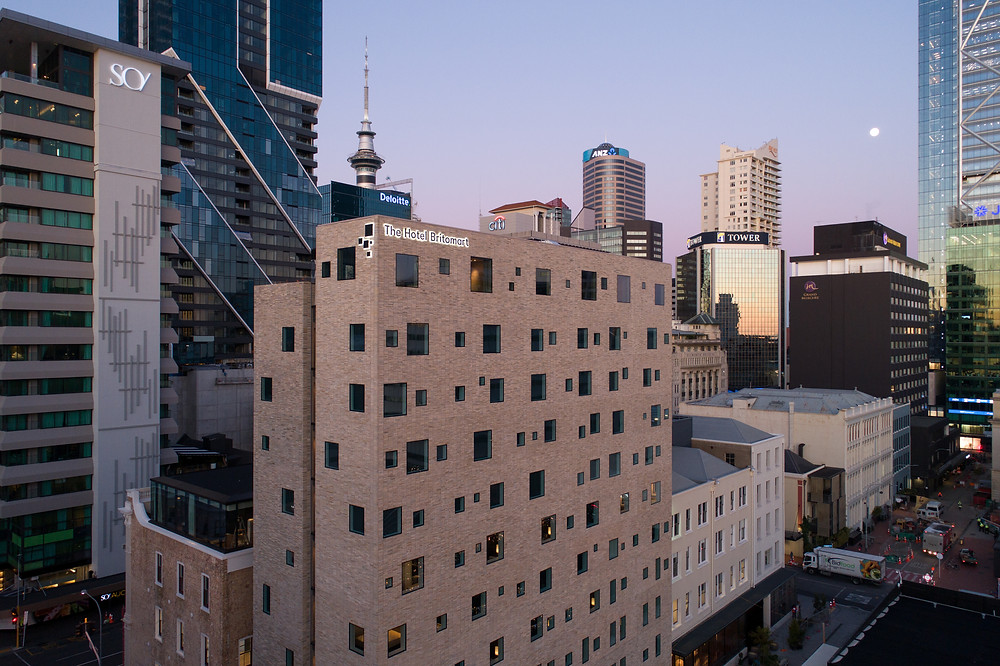 The Brick Inlay system proves strong and robust for The Hotel Britomart