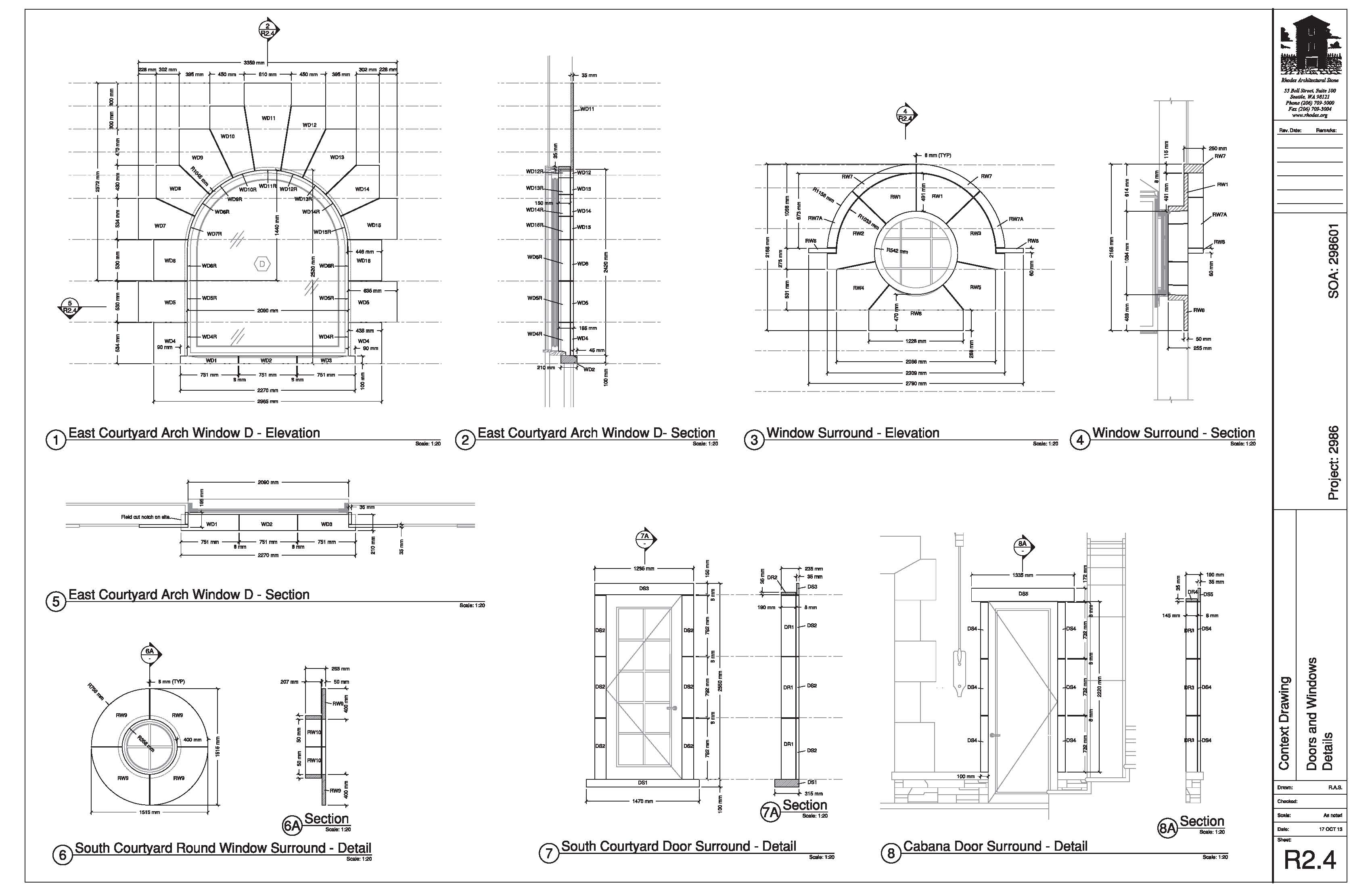 achieving design aspirations with stone shop drawings and