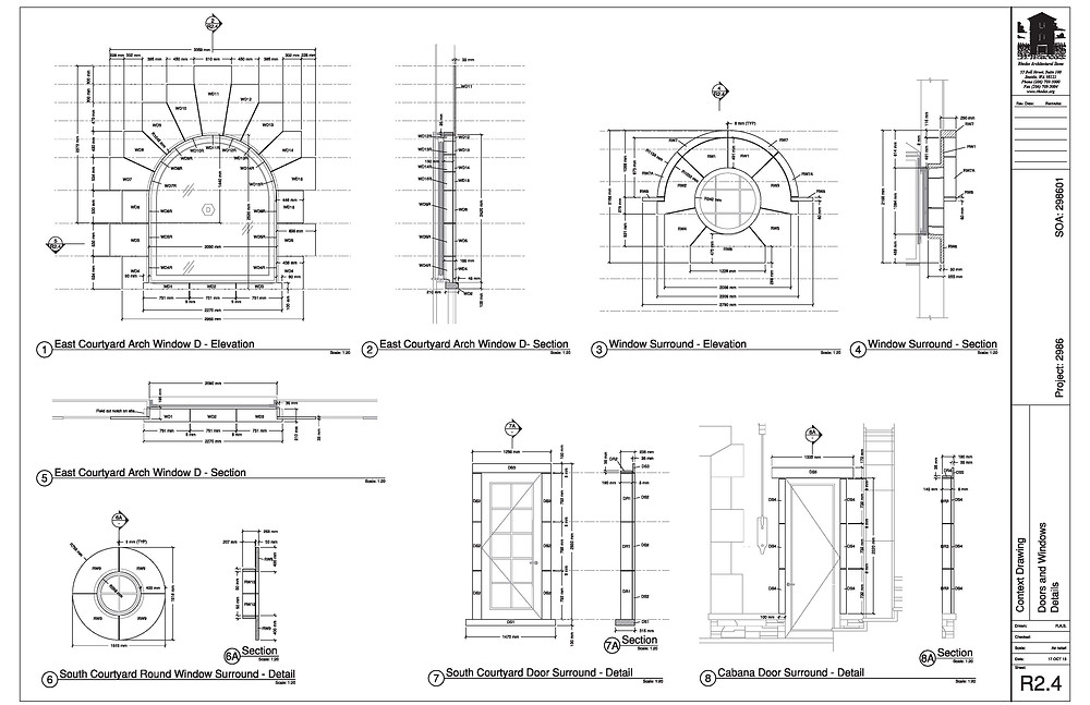 Context drawings for your stone building project