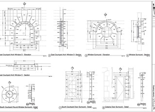 Achieving design aspirations with stone shop drawings and piece lists