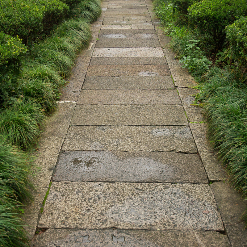 Antique Highland Porphyry pathway