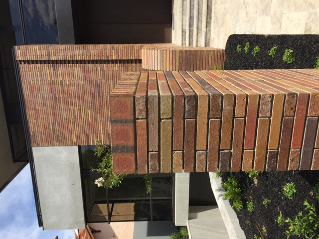 The detailed brickwork design made all the difference to this residence