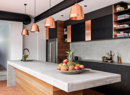 Claremont house harmoniously blends industrial chic with a warm heritage style
