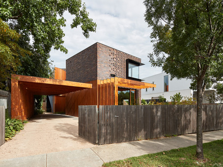 Krause bricks add quality and permanence to this superb home in Armadale