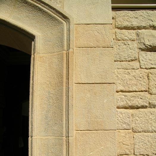 Amande Limestone quoins and veneer