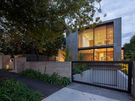 Petersen K91 bricks add texture and interest to this amazing Hawthorn home