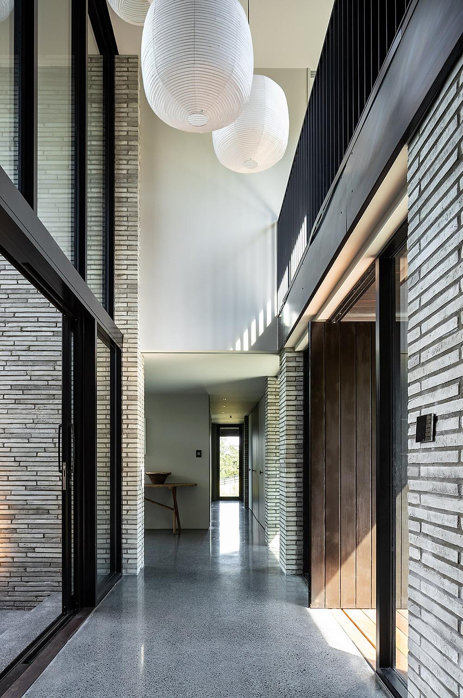 Petersen K51 bricks line the hallway