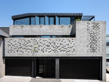 Petersen D91 bricks shine front and centre at this multi-generational Hawthorn home