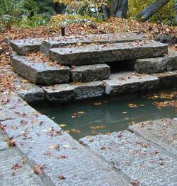 Antique Pewter Granite water feature