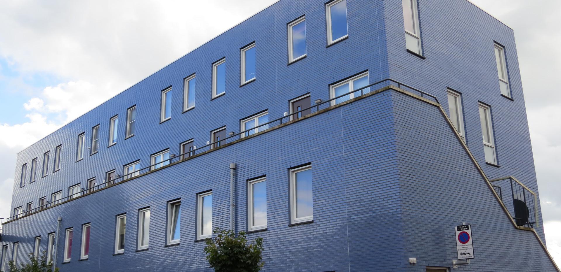 Mediterranean Blue Glazed Bricks