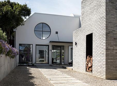 Petersen D91 bricks create a magical garden room in Hawthorn