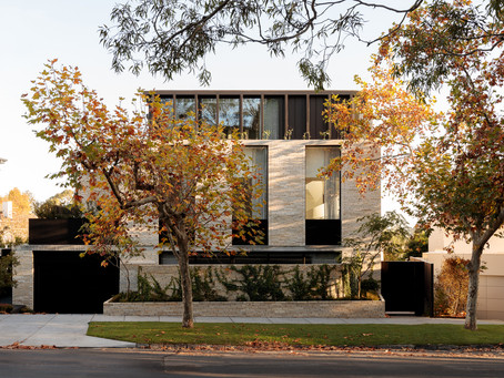 Krause Emperor bricks' warm, earthy tones are a natural fit at Edition Toorak