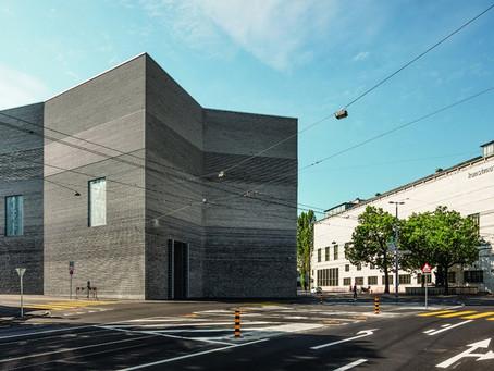 Using Petersen bricks, Kunstmuseum Basel ranks in the top 10 of 2016's most interesting buildings