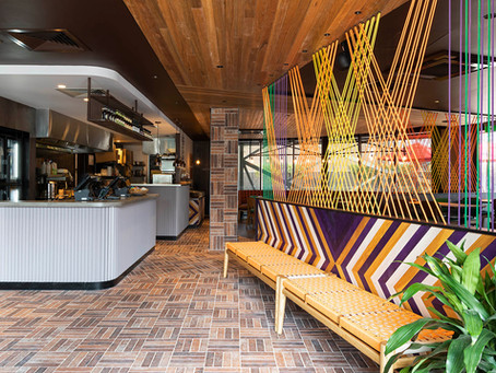Antico Casale Bruciato brick tiles add authenticity to Nando's revitalised Clayton restaurant