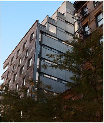 Mulberry Apartment brick facade