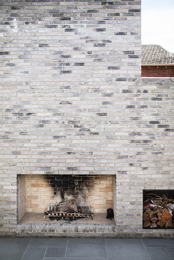 Petersen D91 brick feature wall and paving
