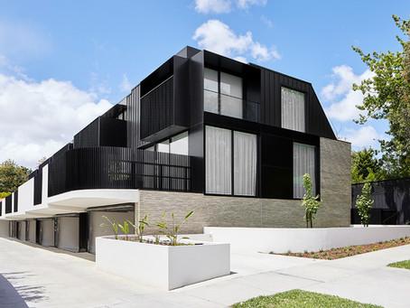 Petersen Kolumba™ bricks set the benchmark for quality at New Street Townhouses