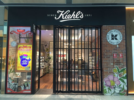 Two different looks create one striking result for Kiehl stores across Australia
