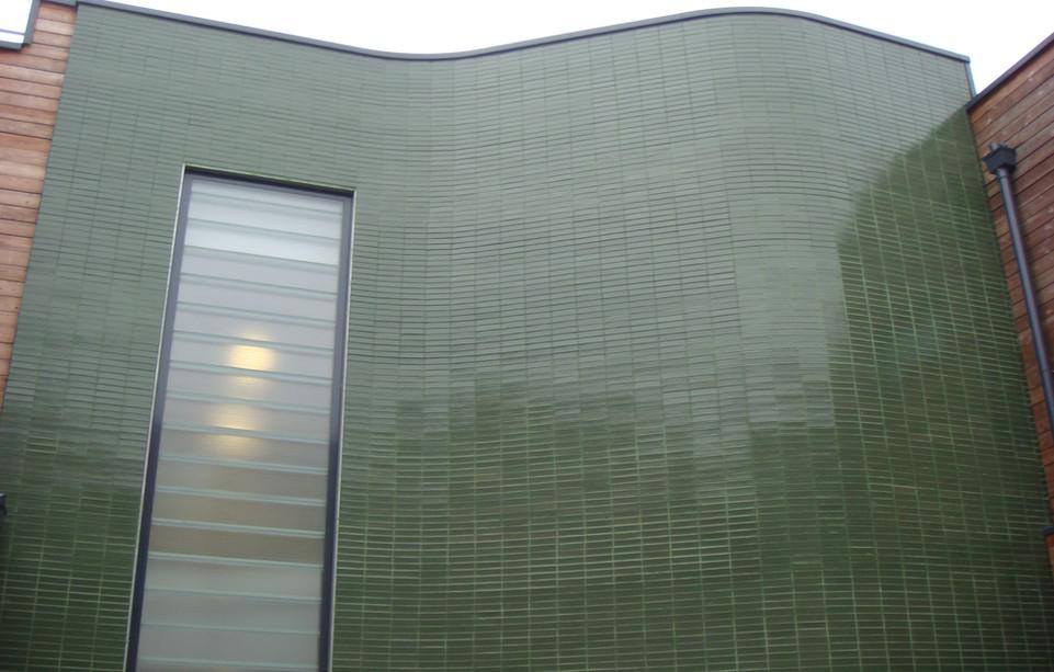 Emerald Glazed Bricks