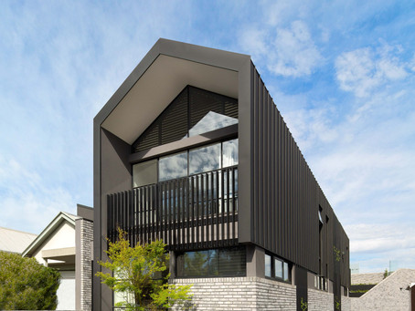 Petersen D91 bricks add textural beauty to this striking Port Melbourne home