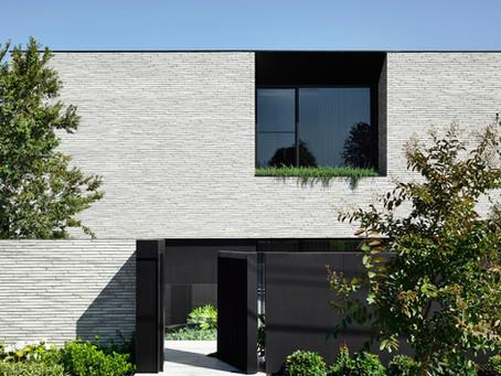 Handmade Petersen Kolumba™ bricks are a soft, tactile presence at the Jennings House
