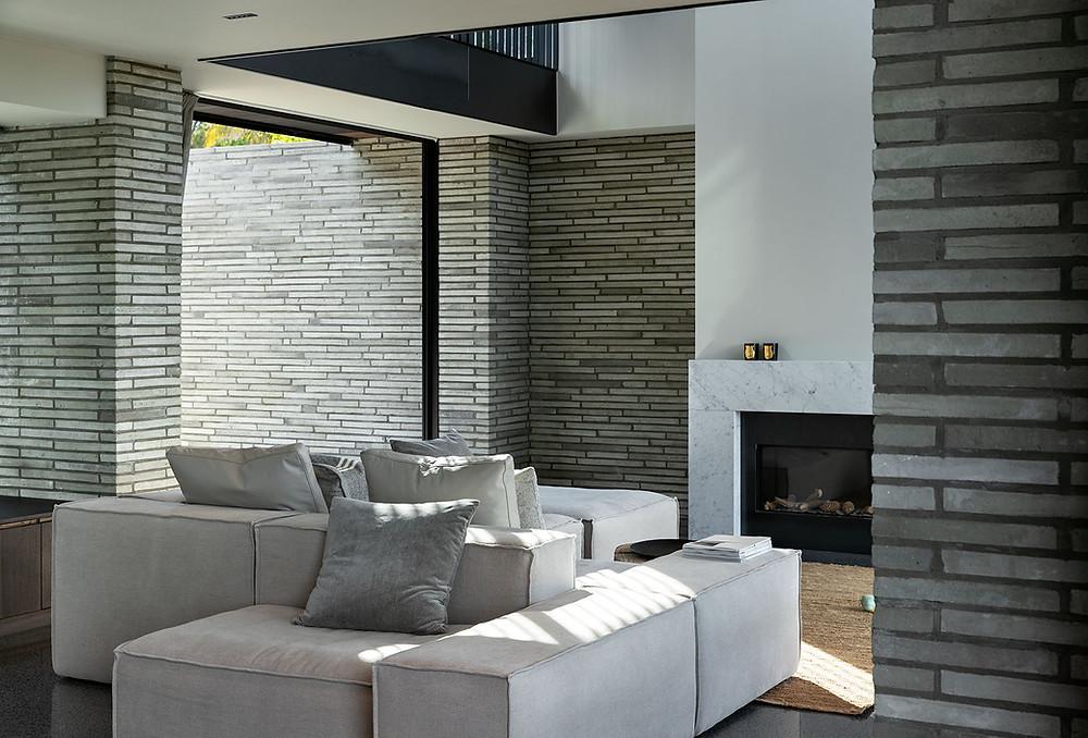 Petersen Kolumba K51 bricks in the living room