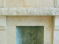 Dune Granite Fireplace