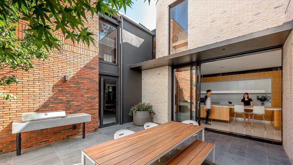 Petersen handmade brick combination, Woollahra