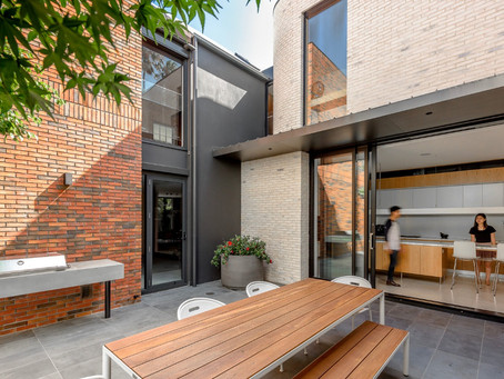 A stunning Petersen brick combination creates two unique stories in Woollahra
