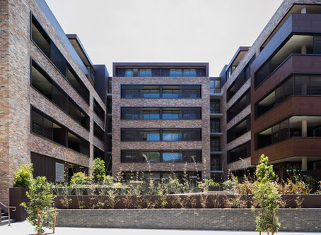 Petersen bricks feature prominently in the award-winning Rochford Apartments