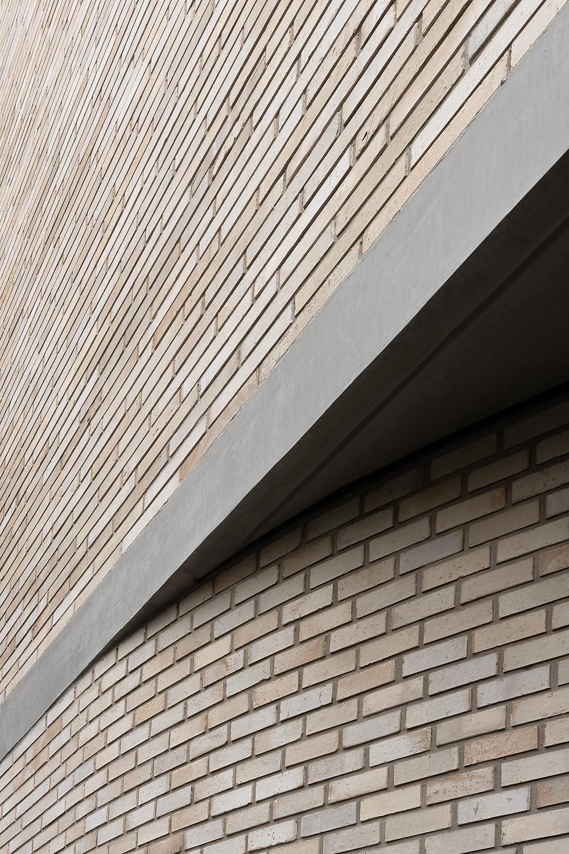 Krause Grey/Ghost bricks, curved entrance, Edition Toorak