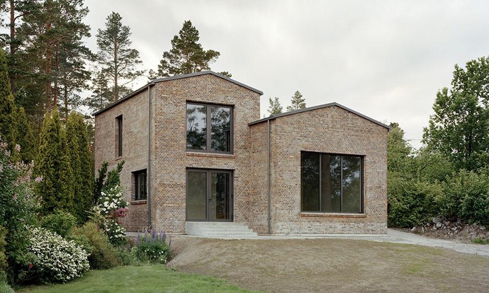 House Juniskär, Sundswall, using Petersen D48 bricks