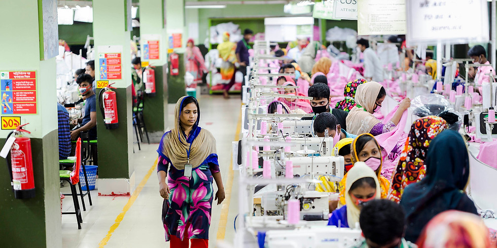 Workshop Discussing the Garment Industry in Bangladesh