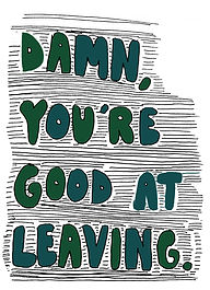 the leaving kind drawing