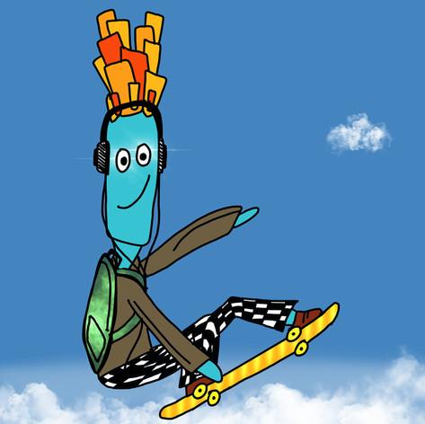 Sky High Skater